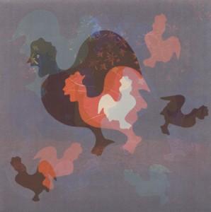 Shadow, monotype, 38 x 28 cm, 2013.