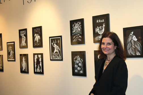 My exhibition at the Armenian Museum of America tork-wall3