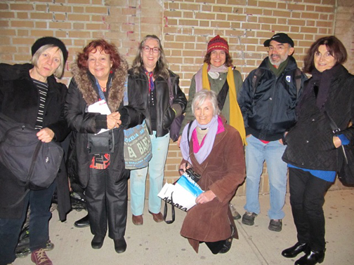 Our group after the Chelsea gallery tour
