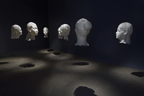 Jaume Plensa, Talking Continents, Lelong Gallery