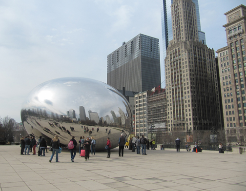 Cloud Gate, Anish Kapoor.