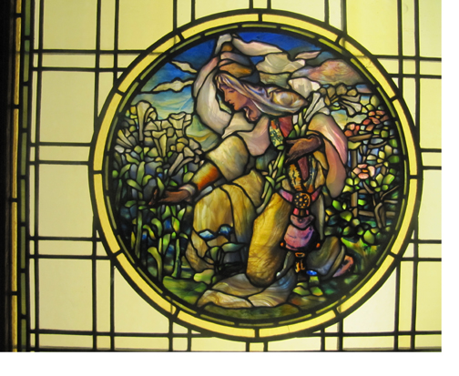 Louis Comfort Tiffany, Smith Museum of Stained Glass.