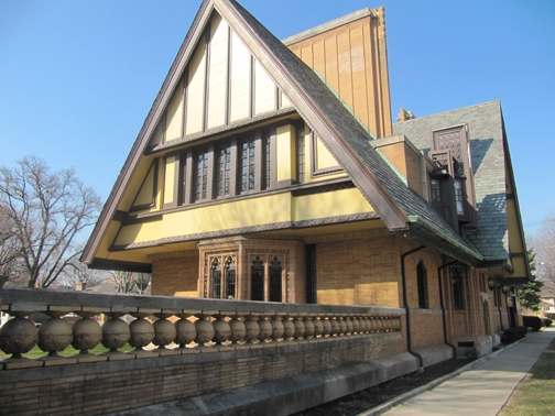 Nathan G. Moore House, 1895 / 1906, Frank Lloyd Wright.